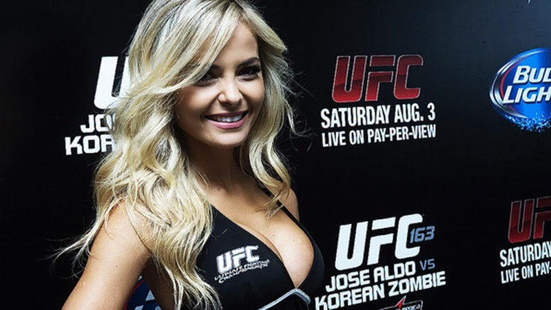Jhenny Andrade ring girl do UFC