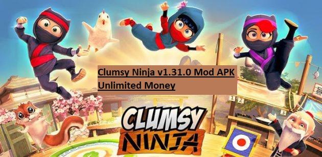 Clumsy Ninja v1.31.0 Mod APK Unlimited Money