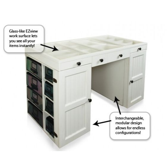 The Original ScrapBox EZ View Desk