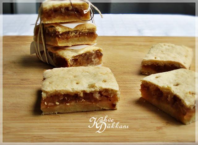 ekşi elmalı bisküvi