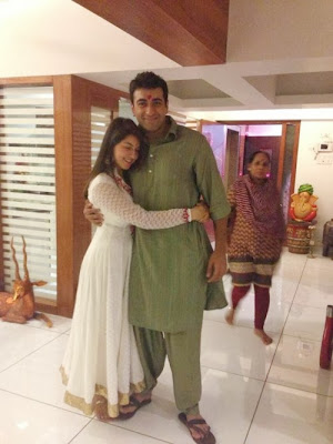 Hansika-2013-Diwali-Celebration-photos