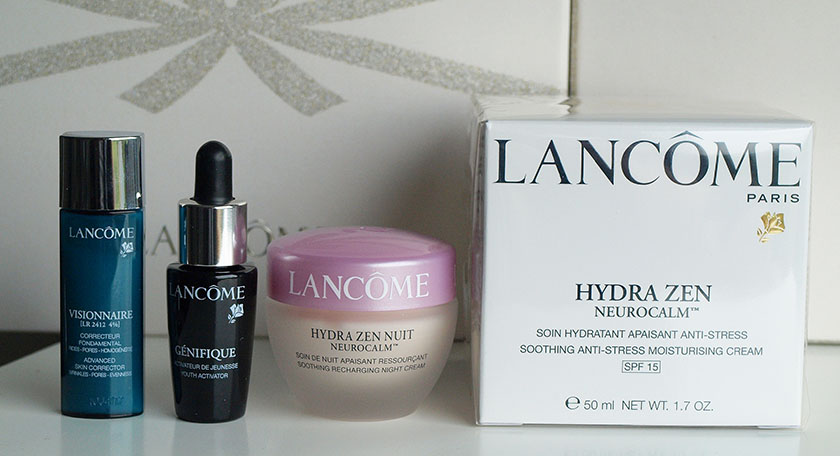lancome face cream gift set