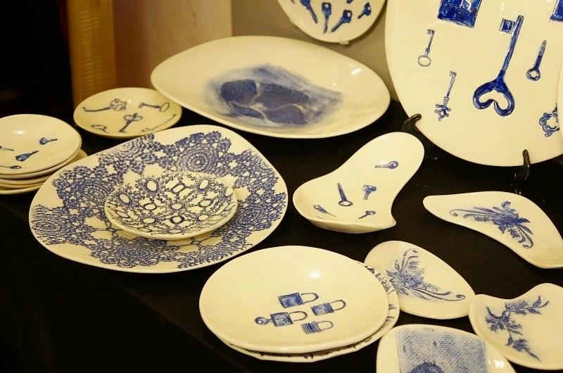 pratos de porcelanas da AR Porcelanas - Feira Rosenbaum Especial Mães