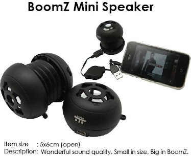CENTRUM LINK - BOOMZ MINI SPEAKER