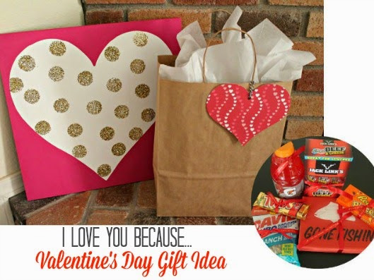 I Love You Because…Valentine's Gift Idea