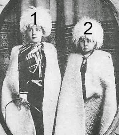 Boris et Kyril de Bulgarie-maison royale de Bulgarie