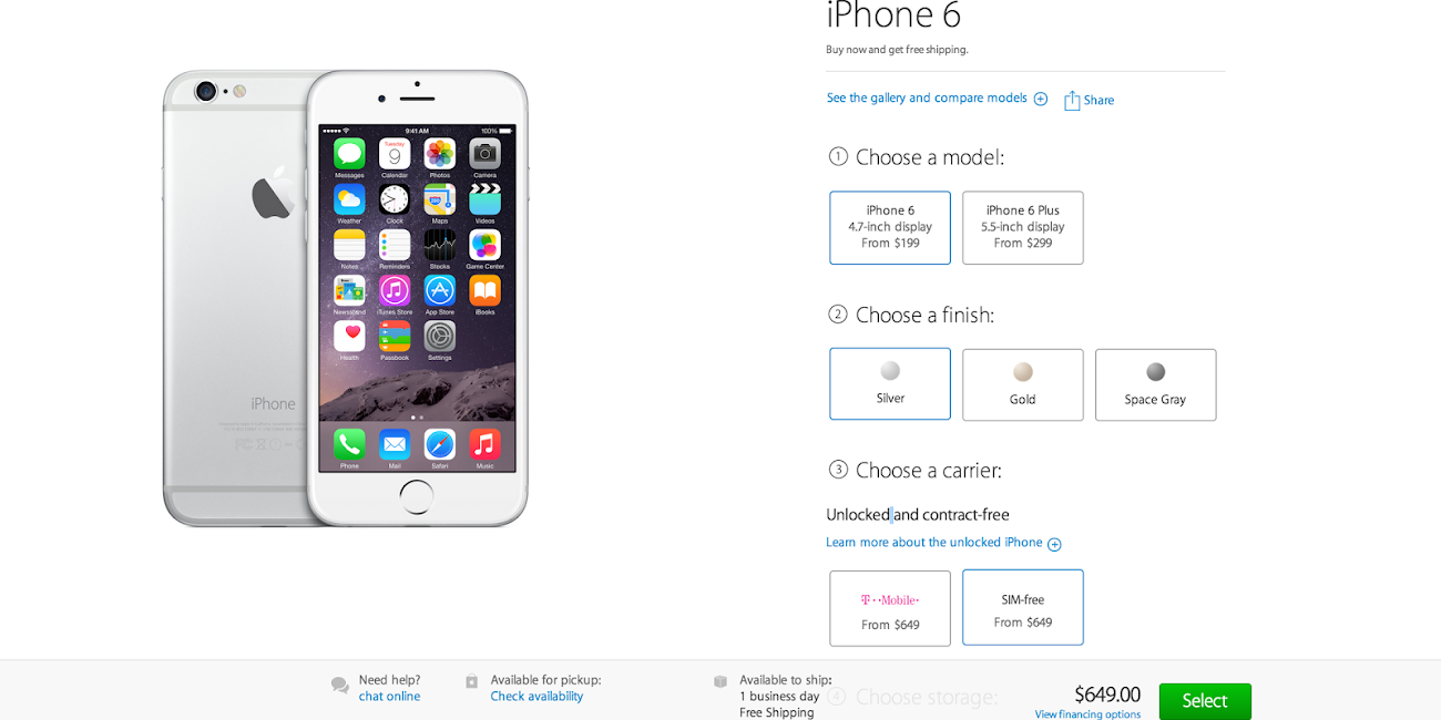 buy unlocked iphone 6 plus