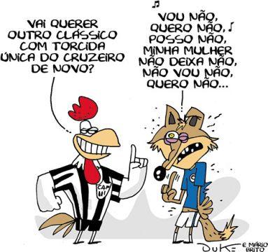 Charge Da Rodada  Derrota Do Cruzeiro
