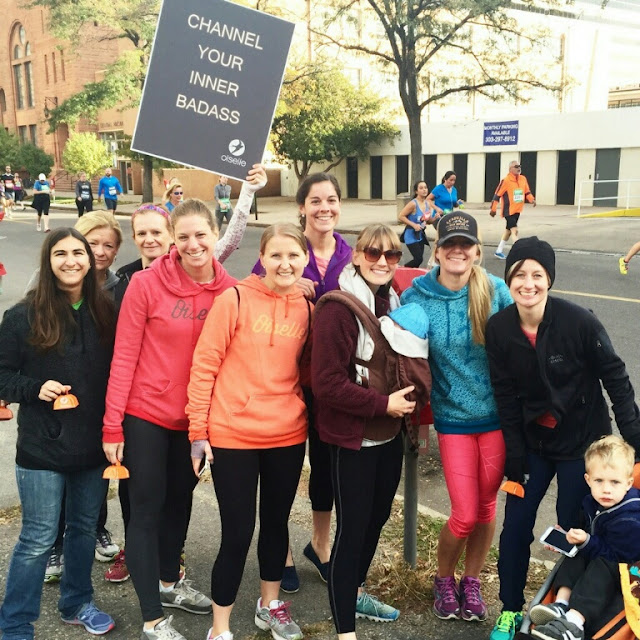 Oiselle Volée ColoradoDenver Rock 'n Roll Cowbell Corner - Early Morning Run