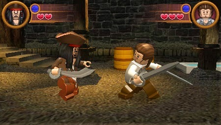 Download LEGO Pirates of the Caribbean - The Video Game PSP
