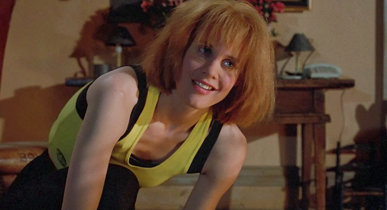 popcorn culture  considering that the girl who lives in the apartment he crash lands into looks like a cross between run lola run and leeloo from the fifth element