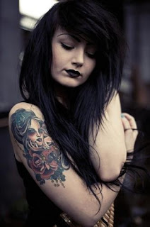 Emo Girl With Tattoos