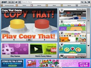 Browser Kidzui untuk anak