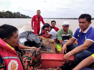 Mangsa bot berlanggar di Batang Igan ditemui menggunakan 'sait'