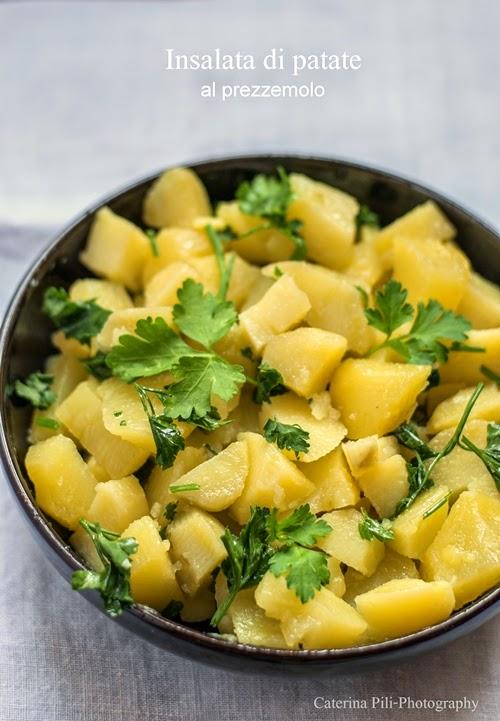 Insalata di patate al prezzemolo