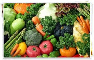 Jenis sayuran dan buah buahan