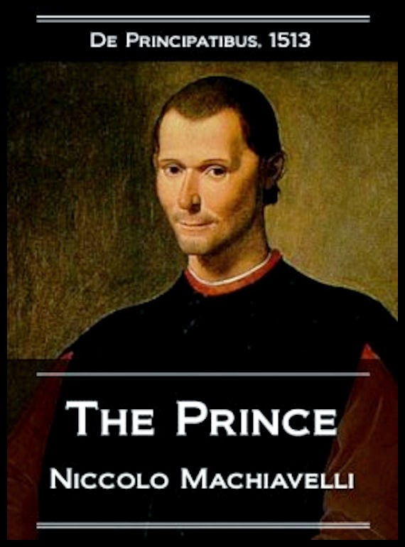13 Alessandro-Bacci-Middle-East-Blog-Books-Worth-Reading-Machiavelli-The-Prince