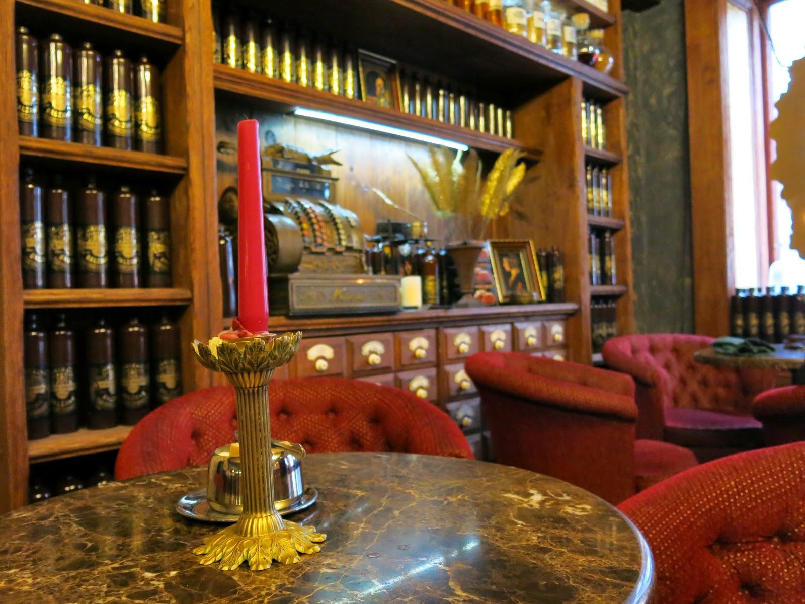 Café Black Magic i Riga