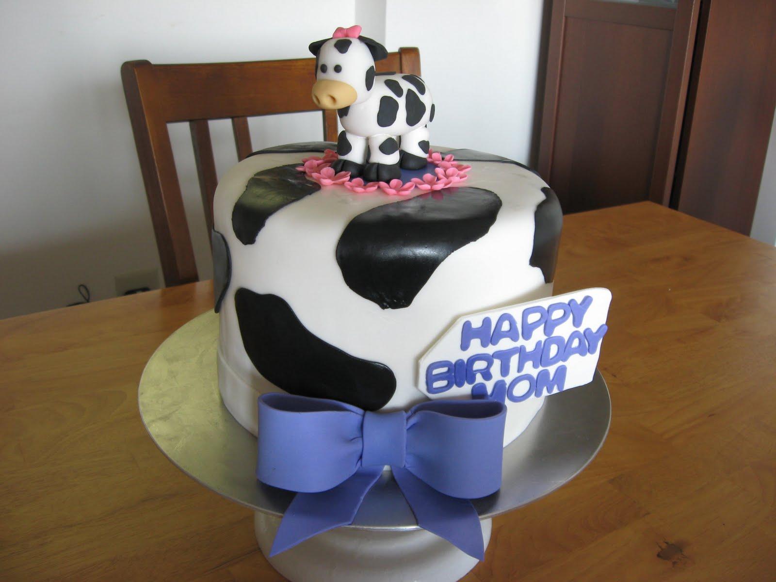 Sweet Cakes Dc Cow Birthday Cake