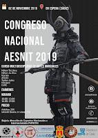 """""""CARTEL DEL CONGRESO NACIONAL AESNIT 2019"""" Curso Multidisciplinar de artes"""