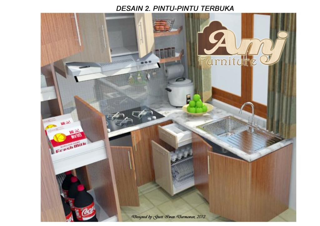 dapur minimalis 2x3 rumah minimalis