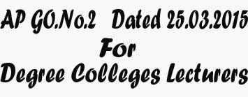 Degree Colleges Lecturers drawing State Pay Scales of 2005/2010 and eligible to draw UGC Scales, 2006