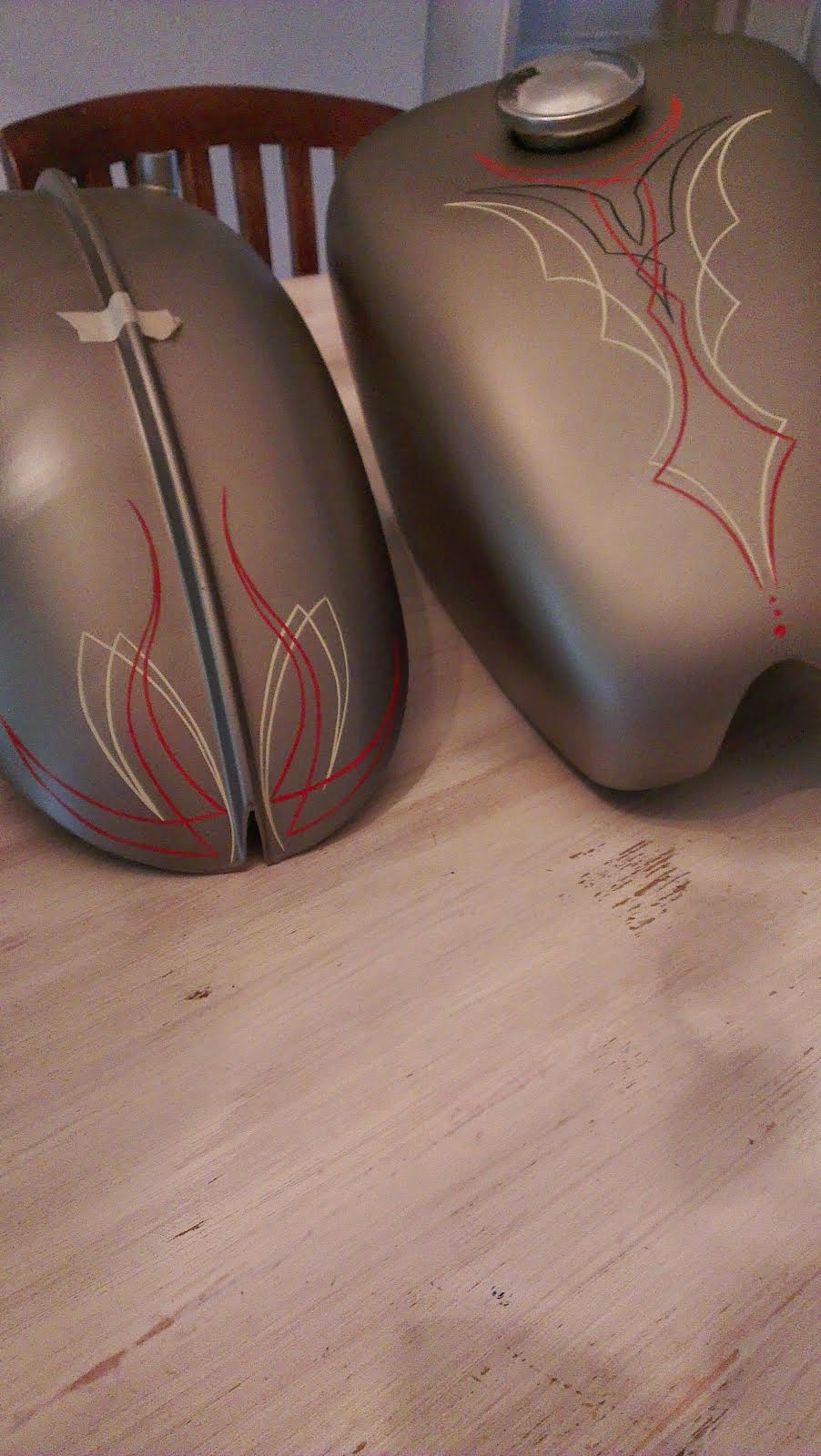 pinstriping shovel hd