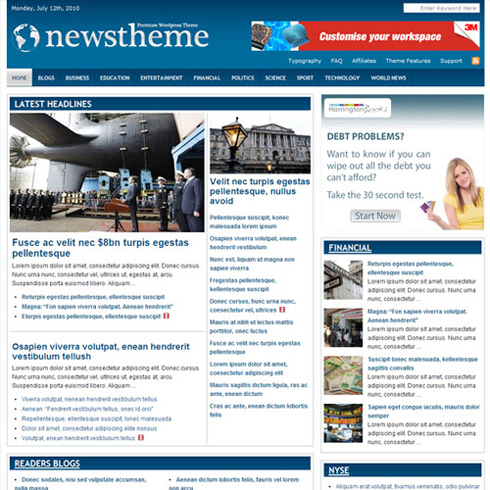 StyleWP News WP premium theme