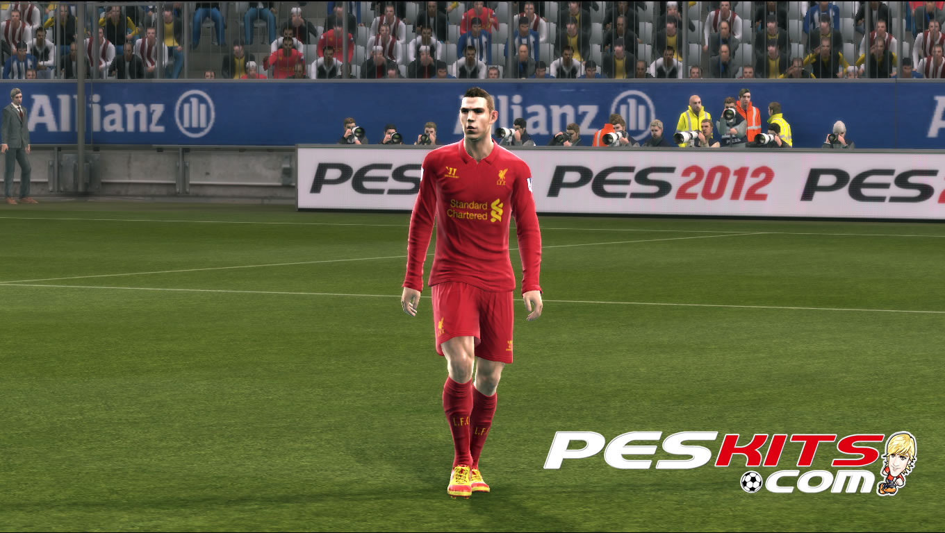 PES 2012 Liverpool 2012/13 Home Kit by Arturo610