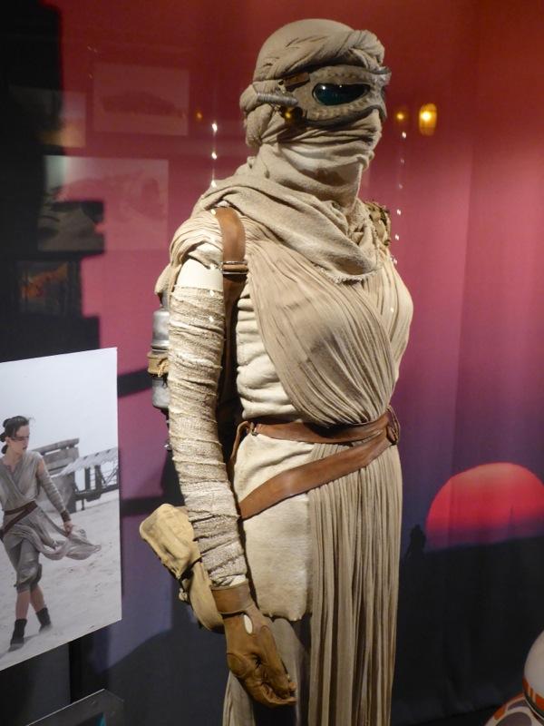 Star Wars Force Awakens Rey costume