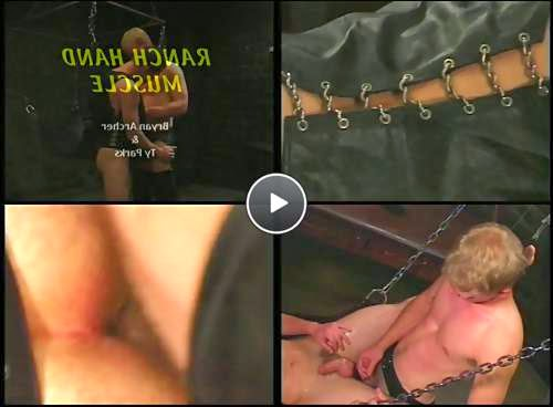 leather gay boys video