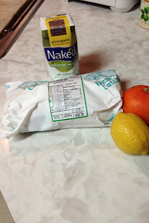 need mahi mahi coconut water zest and juice from one lemon and orange ...