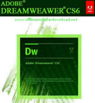Adobe Dreamweaver CS6 Offline Installer