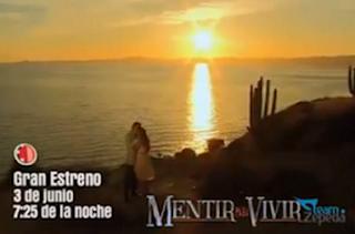 Cuarto promocional de ¨Mentir para Vivir¨ ¡Se acerca su estreno!
