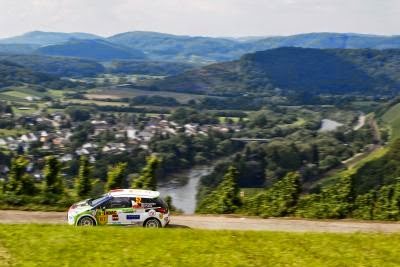 Simone Tempestini si Dorin Pulpea - Citroen DS3 R3 - Raliul Germaniei 2014 - JUNIOR WRC