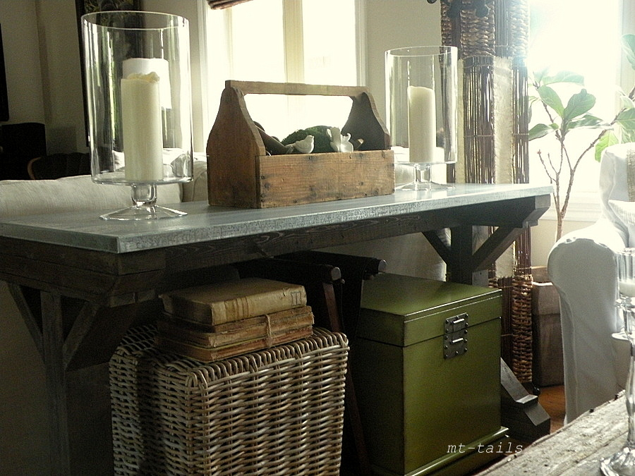 Oliver And Rust Diy X Base Farmhouse Console Table