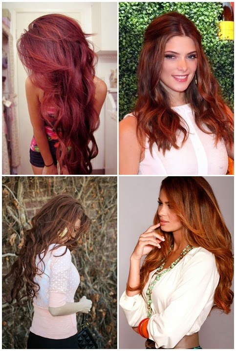 Red Haarfarbe Ideen