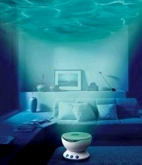 mini wave projector. 13 Out of this World Rooms that Take you Under the Sea