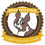 WINNER SIMON SAYS STAMP MONDAY CHALLENGE