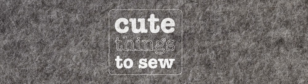 Cute things to sew