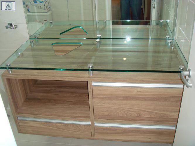 vidraçaria ClassicBox Vidros e Decorações (11)41892493  whats19981129435 C -> Pia Para Banheiro Aquario