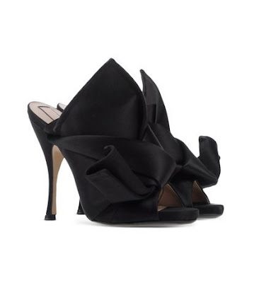 Nº 21 Black High Heeled Mules