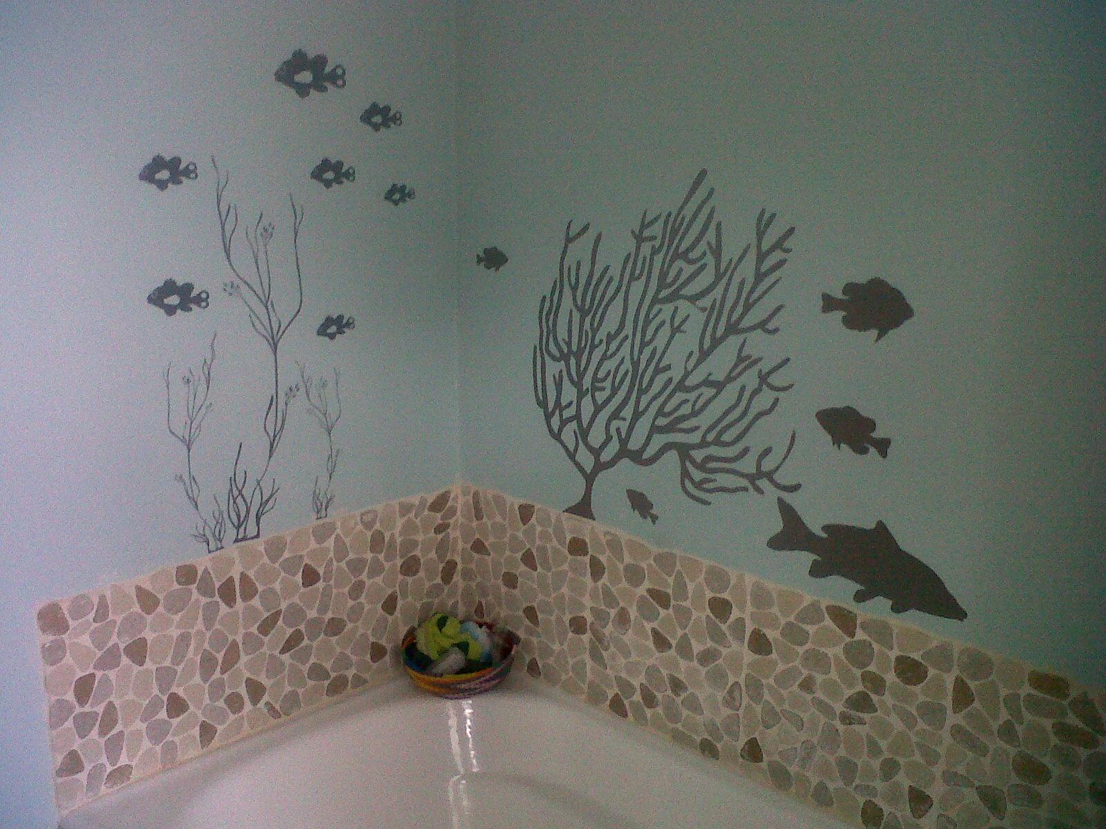 Bathroom wall art sea - Wall Art 2012 Wall Viynls