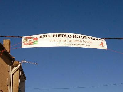 cristóbal, este pueblo no se vende, contra la reforma local