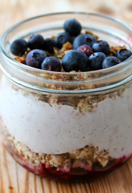 Nut and Berry Layered Breakfast