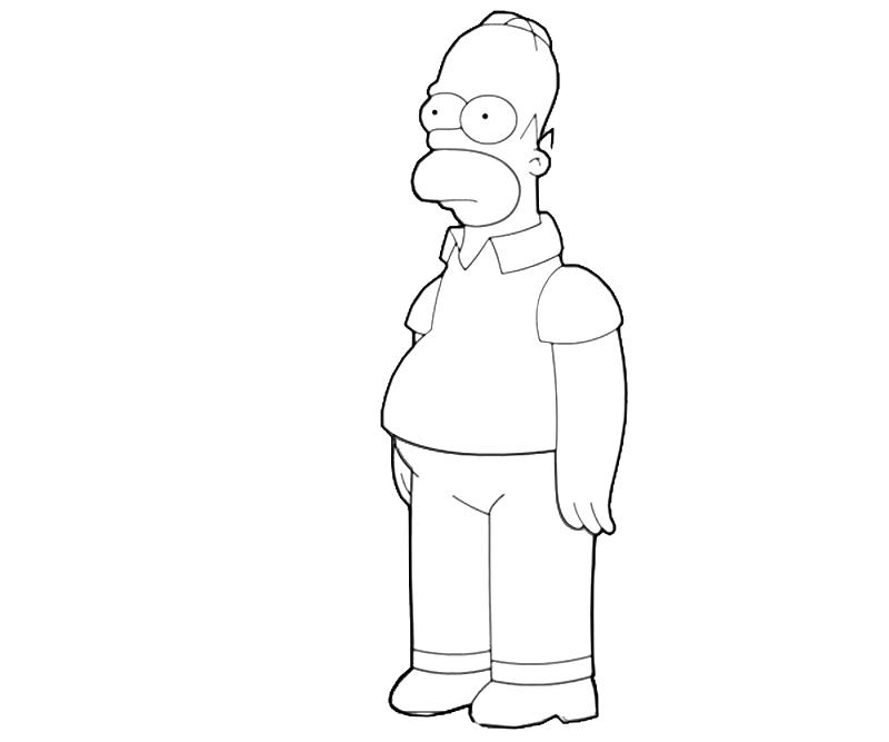 printable-homer-simpson-look-coloring-pages