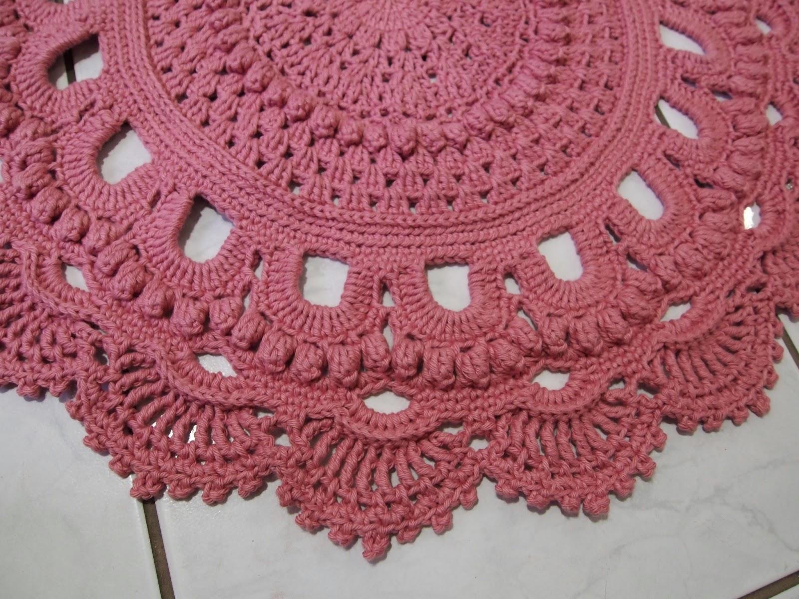 os croches da elsa tapete russo oval modelo 1