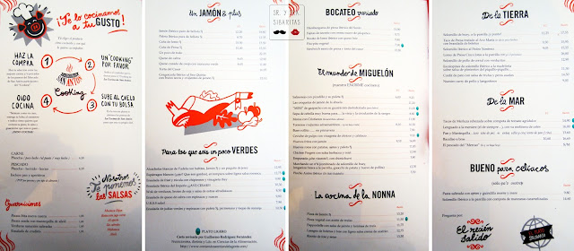 Azotea Mercado de San Anton_La cocina de San Anton carta