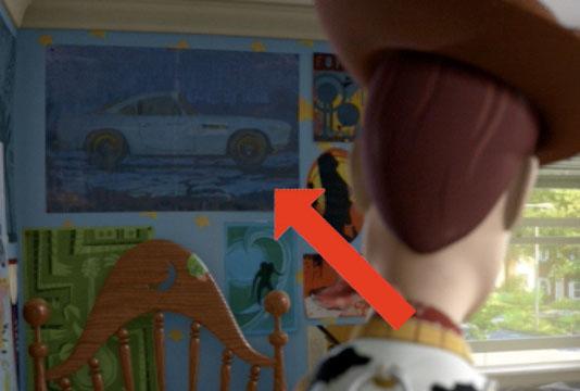 Finn McMissile en Toy Story