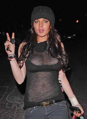 Lindsay Lohan actriz de cine
